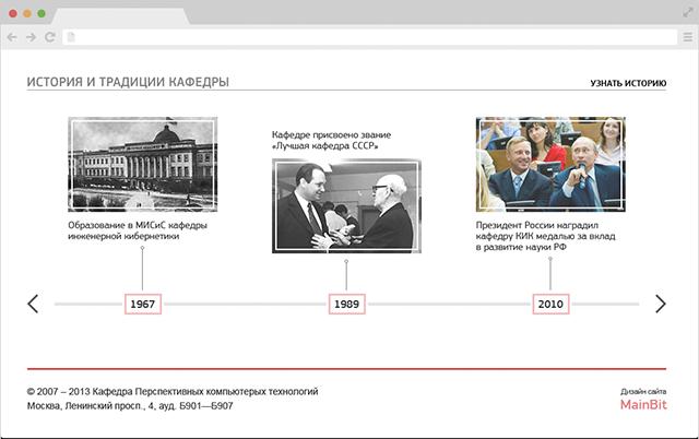 Создание сайта ПКТ - история